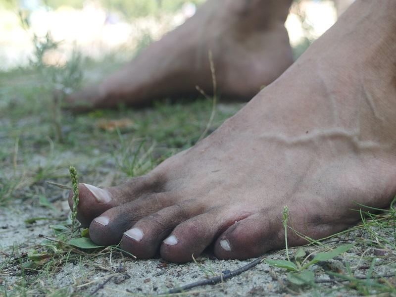 Barefoot běhání