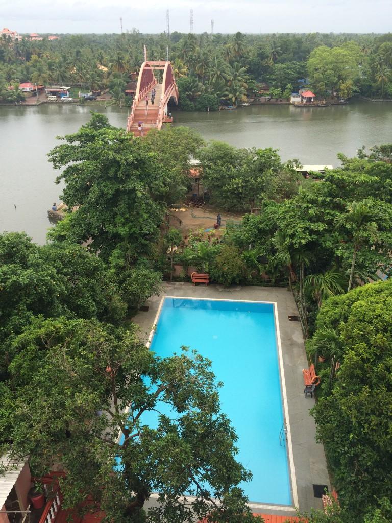 Bazén jako standardní výbava