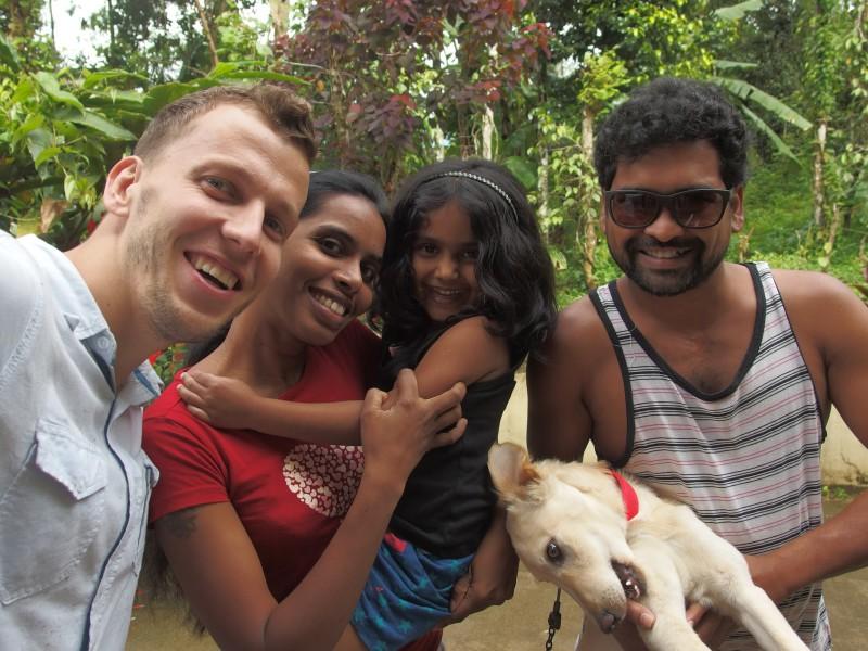 Selfie s Pavanovou rodinkou