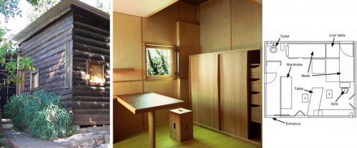 Minimalistický dům Le Corbusiera na jihu Francie. Zdroj: dezeen.com