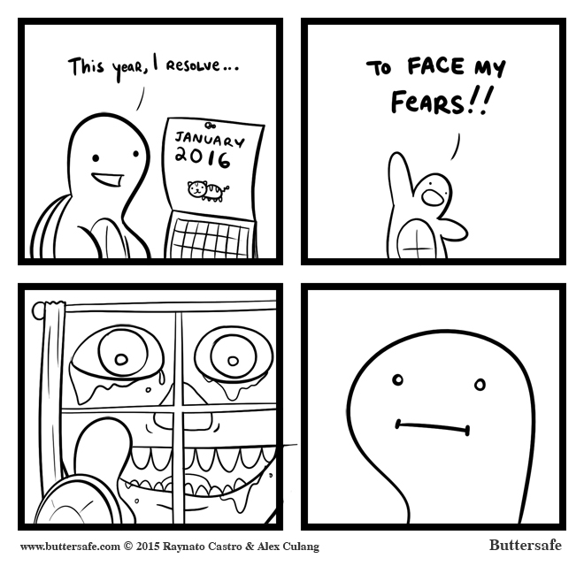 Face Your Fears in 2016